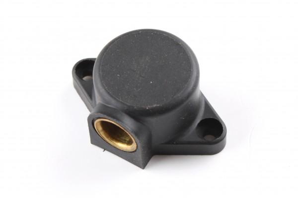 Aufbausteckdose für Seitenwagenanschluß(2-polig)