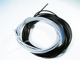 Seilhülle für Gas/Choke Bund 10m, grau o. schwarz