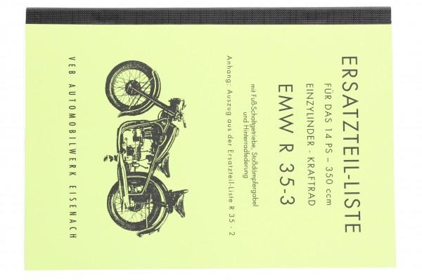 Ersatzteilliste EMW-R 35/2/3