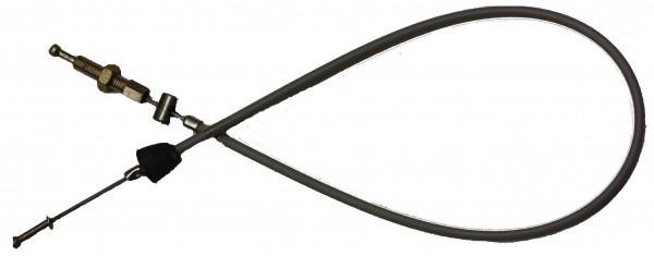 Fußbremszug Simson-Spatz (Pedalmodell), grau
