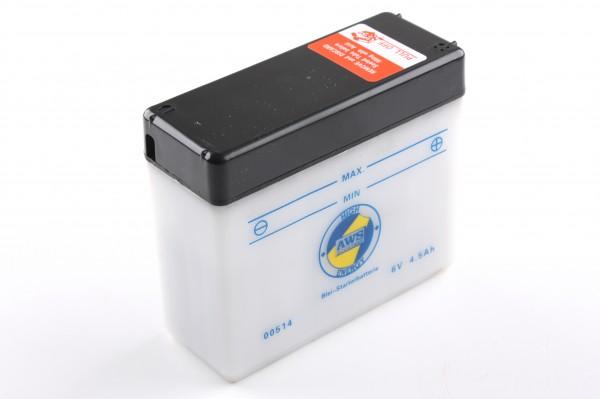 Batterie 6V/4,5Ah, (Star, Schwalbe ect.)