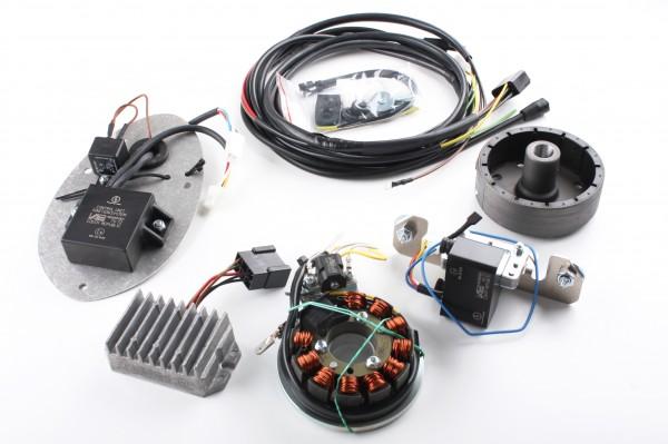 Magnetzündlichtanlage IFA/ MZ BK 12V, kontaktlos, Powerdynamo