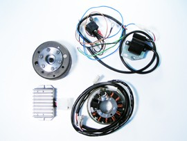 Magnetzündlichtanlage passend für IFA/ MZ RT /IWL-Roller/ES150 Powerdynamo