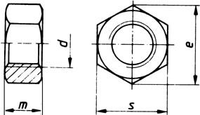 Sechskantmutter M22x1,5