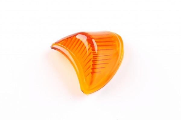 Stoplichtglas für Rücklicht oval