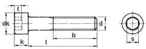 Innensechskantschraube M6x15