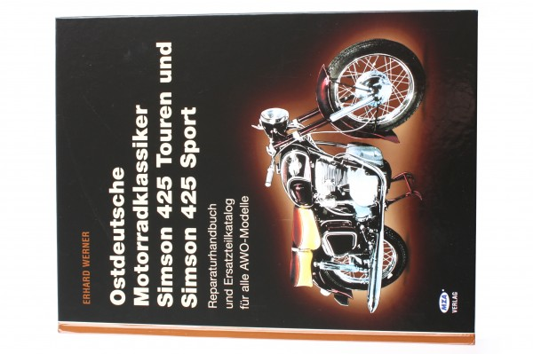 Ostdeutsche Motorradklassiker, AWO (Reparaturanleitung und Ersatzteilkatalog)