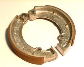 Bremsbacken MZ, Trommeldurchmesser 150mm